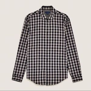 4/$25 Zara Man Plaid Shirt